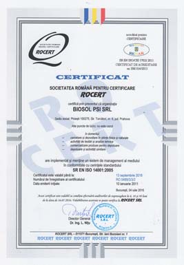 4 - Certificare ISO 14001