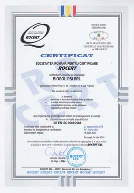 3 - Certificare ISO 9001
